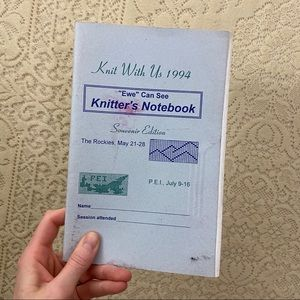 Knitters notebook